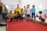 图为特奥滚球比赛融合团体赛现场 - 残疾人联合会