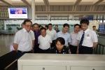 陈刚副主席率队检查火车东站安全生产工作 - 安全生产监督管理局