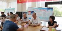 陈建军到南宁市国土资源局现场接访 为单位企业排忧解难 - 国土资源厅