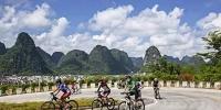 2017年环广西公路自行车世界巡回赛沿途,有风景,也有平安! 为了这场世界顶级赛事,我们奋而再战! - 公安局