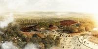 第十二届国际园博会三大展馆妆容初显(组图) - 建设厅