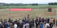 百色市2017年甘蔗生产机械化技术培训会在田东县召开 - 农业机械化信息