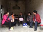 上林县红十字会携手爱心企业精准救助贫困户(图) - 红十字会