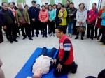 应急救护知识进校园,用心筑起安全防线(图) - 红十字会