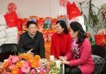 广西福彩中心党支部开展2018年春节慰问社区老年人活动 - 民政厅