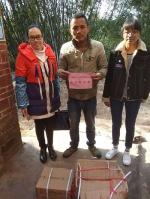 """横县深入开展""""博爱送万家""""春节送温暖活动 - 红十字会"""