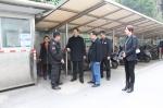 陈勇新副厅长带队开展安全检查,确保春节期间审计厅机关和职工住宅小区安全稳定 - 审计厅
