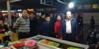 北海市委常委、副市长曾子祥带队到银海区检查调研春节前食品安全工作 - 食品药品监管局