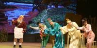 广西戏剧院上演彩调剧《五子图》与市民共度春节 - 广西新闻网