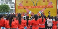 """钟山:两安欢度""""壮族三月三"""" 民俗文化进校园 - 广西新闻网"""