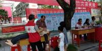 马山县红十字会积极参加科普宣传活动(图) - 红十字会