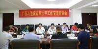 重庆市红十字会到桂考察交流红十字工作(图) - 红十字会