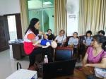 蒲津社区开展红十字会应急救护培训班(图) - 红十字会