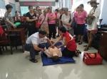 蒲庙镇红星社区开展万人应急救护培训活动(图) - 红十字会