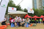 """北海市红十字应急救援队伍为大型水上活动""""乘风破浪""""保驾护航(图) - 红十字会"""