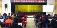 邕宁区红十字会举办应急救护培训班 - 红十字会