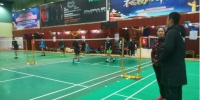 广西羽毛球男队外训备战全国羽毛球青年锦标赛 - 省体育局
