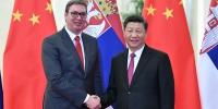 4月25日,国家主席习近平在北京人民大会堂会见塞尔维亚总统武契奇。 - 南宁新闻网